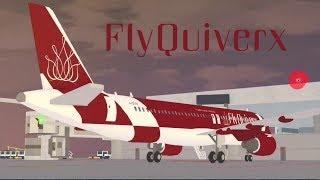 FlyQuiverx Arlanda-Frankfurt | A321| ROBLOX | Premium Economy