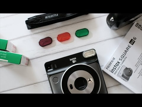FIRST UNBOXING | FUJIFILM INSTAX SQUARE SQ6 | INSTAX INDONESIA