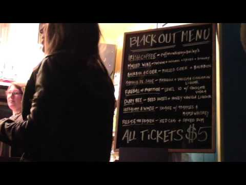 """VIDEO PREVIEW: The Black Drop hosts """"Black Out"""" karaoke night"""