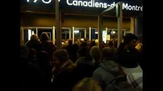 Bon Jovi Montreal Konzert 14.2.2013 Einlass