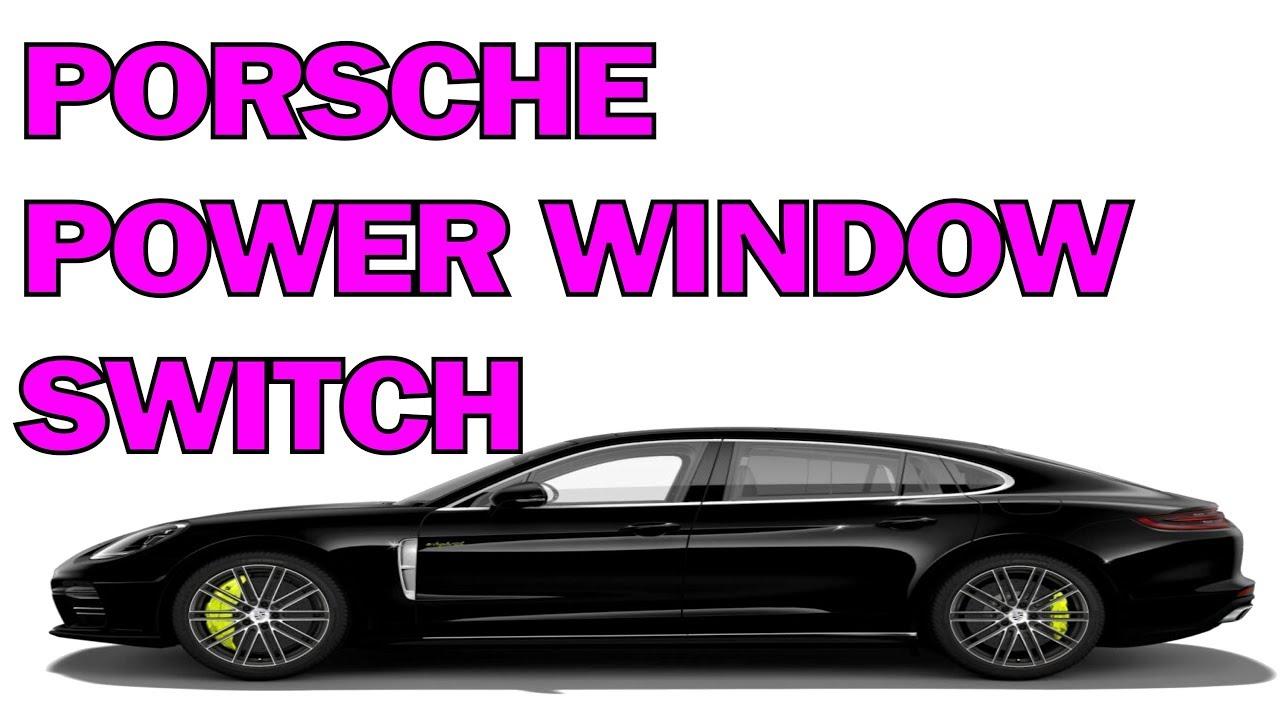 Front Left Side Power Window Switch for Por-sche Ca-yman Panamera Macan Power Window Master Switch
