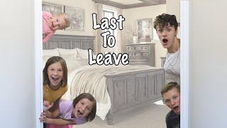 FUNNY Last To Leave the BEDROOM CHALLENGE - BRO VS SIS