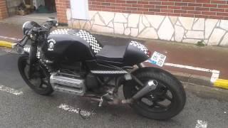 BMW K100 Rs Cafe Racer by Chris Rockers Klan
