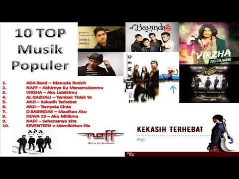 Top 10 Musik Populer Indonesia