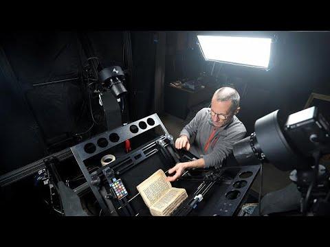 كيف تحفظ التكنولوجيا أندر المخطوطات الدينية والإنسانية في مصر والعالم؟…  - 11:53-2019 / 4 / 18