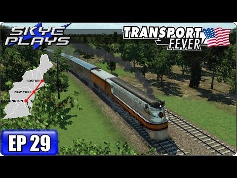 Transport Fever Let's Play / Gameplay BOS-WASH Ep 29 - IS THIS THE END?