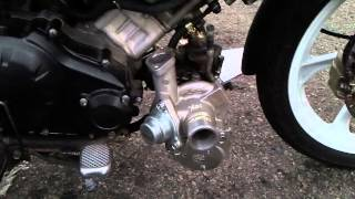 Yamaha lc 135 turbo charge part 1