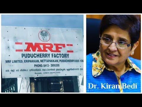 "Dr. Kiran Bedi lauds ""MRF"" Puducherry"