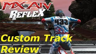 MX vs ATV REFLEX - Custom Track Review - DS19 COMPOUND SX3