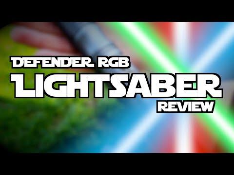 Lightsaber Review  ITS INSANE... (AegisSabers Defender!)