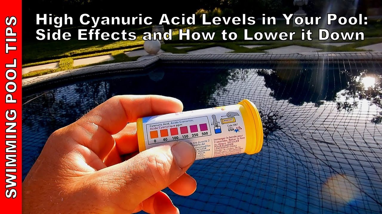High cyanuric acid levels how it effects your pool - How do i keep ducks out of my swimming pool ...