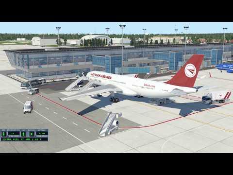 A330 Oslo(ENGM) - Riga(EVRA) X-Plane 11