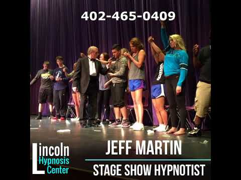 Stage Show Hypnosis by Jeff Martin of Lincoln and Omaha NE