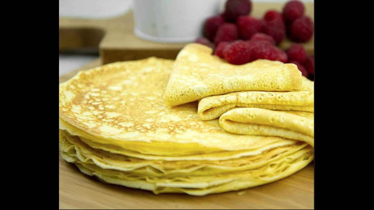 how to make healthy crepes