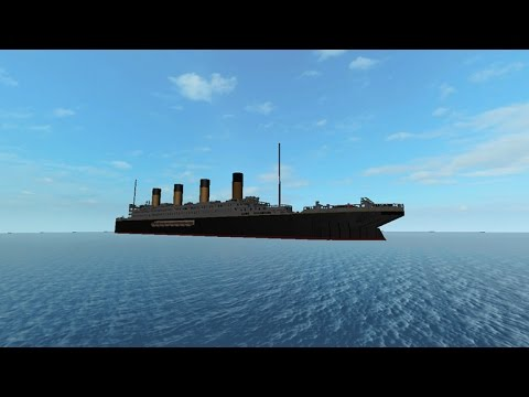 Roblox Titanic II Sinking by carjoe35668 - YouTube