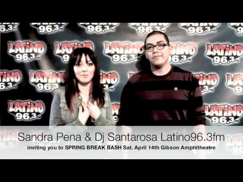 Sandra Peña And Dj Santarosa Getting Ready For Spring Break Bash
