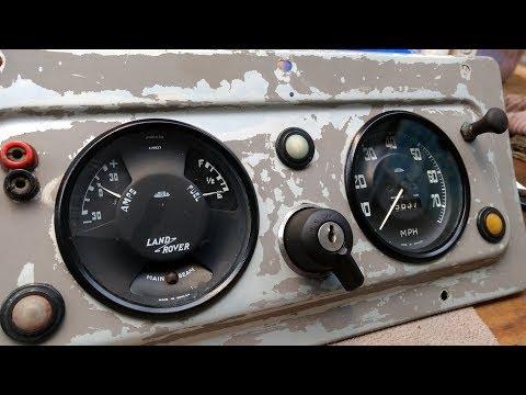 1967 Land Rover Series 2a 109 - Part 4: (Final) Dash Refurbishment