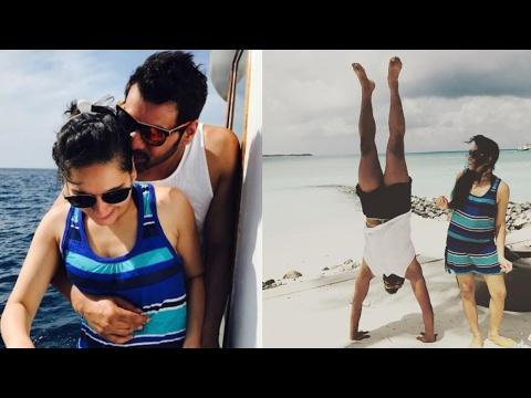 Shabir Ahluwalia Gets COZY With Kanchi Kaul In Maldives!