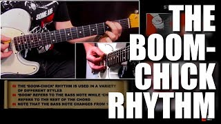 country guitar lessons | the boom chick rhythm | guitar excellence