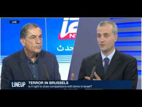 Debate between Emmanuel Navon and Gideon Levy on I24News, 24 March 2016