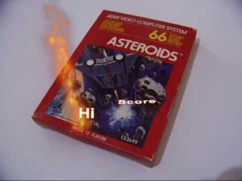 LETS PLAY THE BEST GAMES EVER MADE   ASTEROIDS HI SCORE