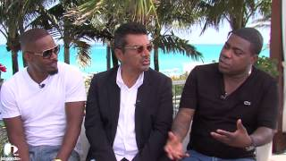 Jamie Foxx, George Lopez & Tracy Morgan on Stars on MBD