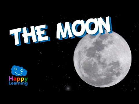 The Moon for Kids - Learning the Moon | Educational Video for Children
