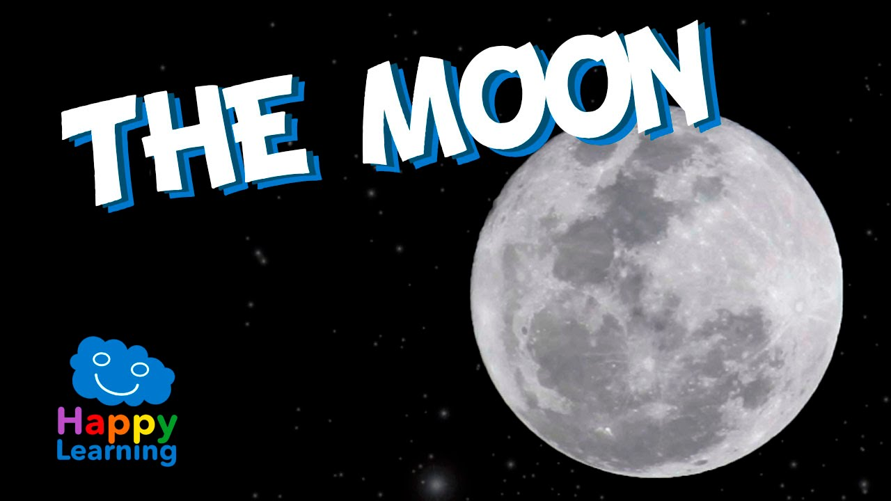 2f9980243b The Moon for Kids - Learning the Moon