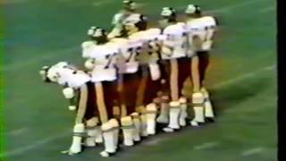 KC vs Balt 1970. 2nd game of the season.