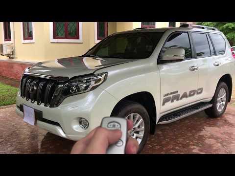 New 2017 Toyota LandCruiser Prado VX-L Limited Top Model Review