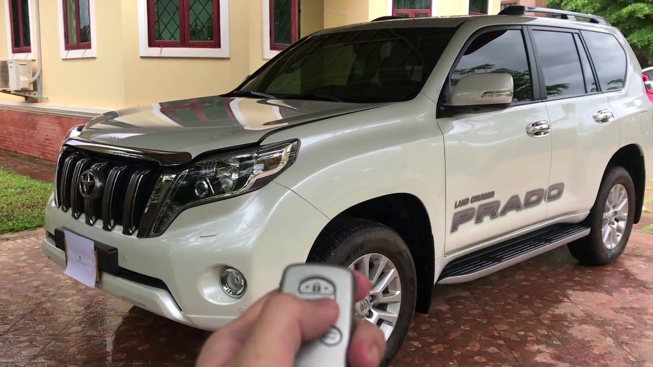 New 2017 toyota landcruiser prado vx l limited top model review vehicle plus