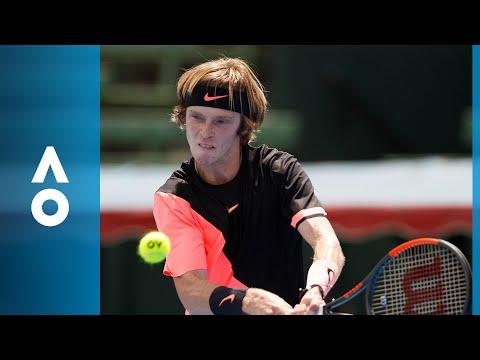 David Ferrer v Andrey Rublev match highlights (1R) | Australian Open 2018