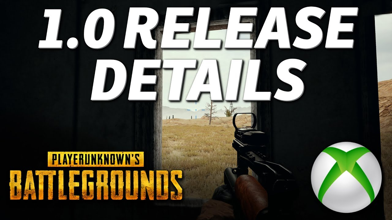 Exactly When You Can Play PUBG Xbox 1 0 - Live Server Maintenance Details!!