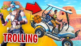 TROLLING NO SKINS IN FORTNITE (Funny Moments) w/ Wildcat, Nogla & Terroriser
