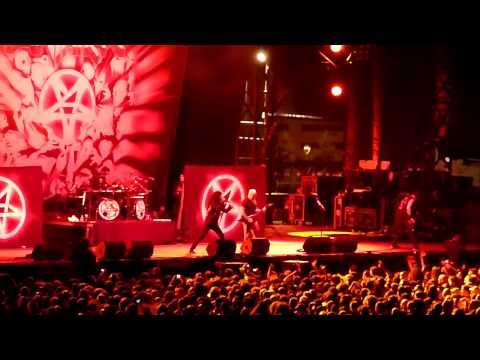 Anthrax - I am the law - Sonisphere 2013 Rivas - Madrid