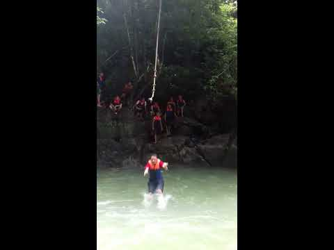 Red Warrior (TDC Banjar) Adventure in Citumang Pangandaran Part1