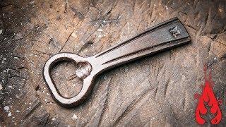 Blacksmithing - Forging a bottle opener