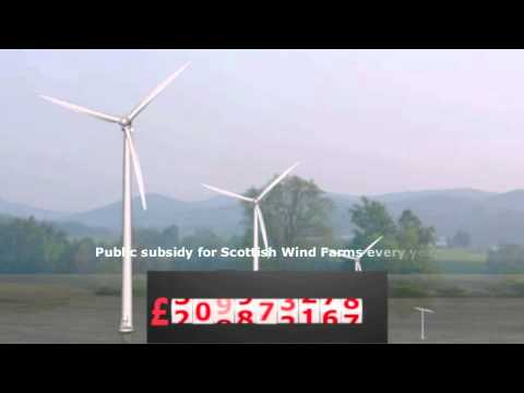 Scottish Wind Farms - the real cost