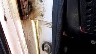 Қалай жоюға люфт есік петлях Ваз 2107 кеңес бывалого