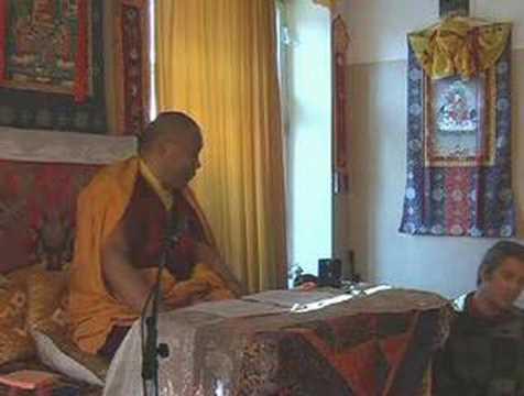 Venerable Khenchen Rinpoche Konchog Gyaltsen