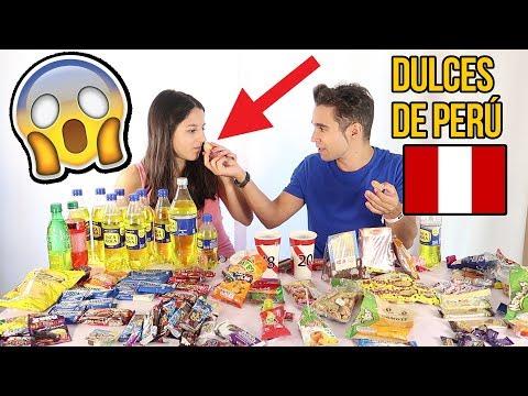 PROBANDO DULCES PERUANOS - ExpCaserosKids