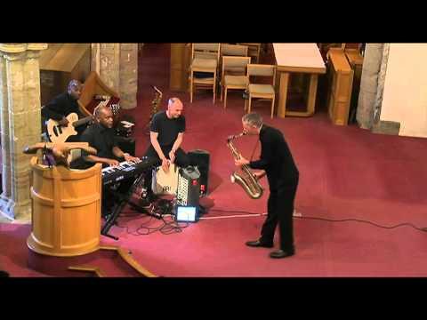 'Amazing Grace' sax solo - Hope Community Gospel Choir concert
