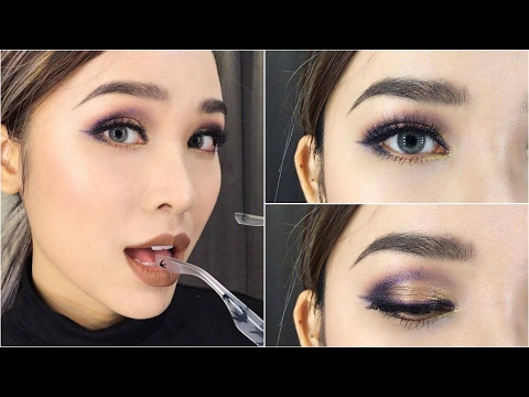 Trang Điểm Cá Tính Với Mắt Nhũ – Glitter Makeup Look [ Quách Ánh ]