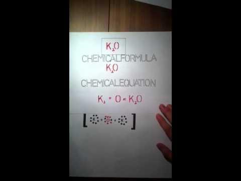 Potassium Oxide  YouTube