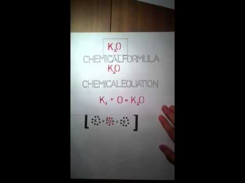 electron dot diagram for potassium opel vectra c wiring oxide - youtube