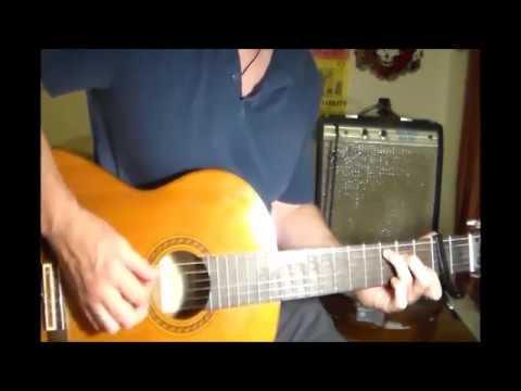 Drop C tuning Bob Dylan lesson