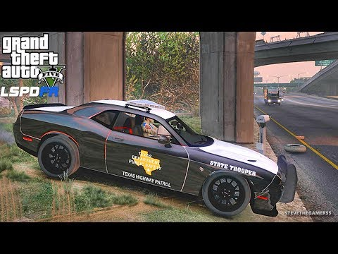 LSPDFR #534 TEXAS DPS PATROL!! (GTA 5 REAL LIFE POLICE PC MO