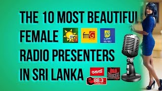 top 10 beautiful female radio presenters in sri lanka