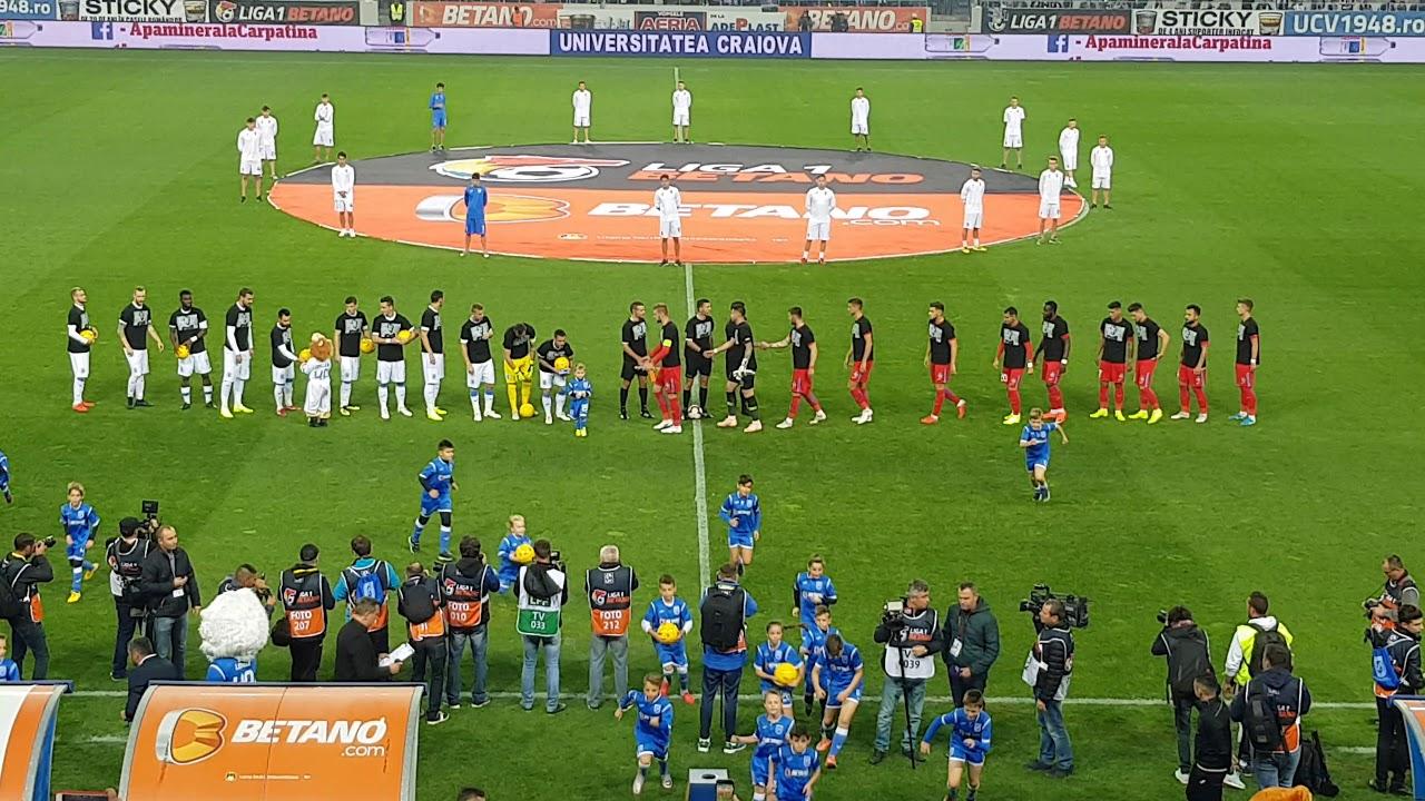 Coregrafie speciala pe tot stadionul la Craiova - FCSB ...   Craiova Fcsb