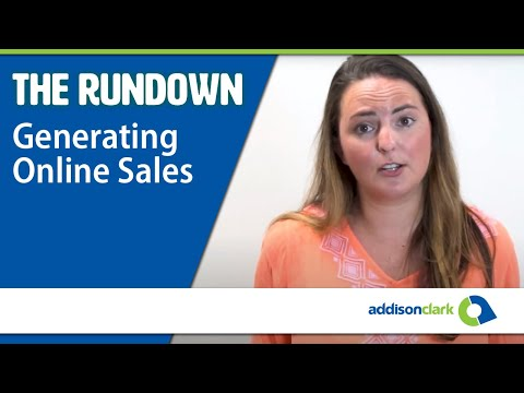 The Rundown: How To Generate Sales For Your Online Store